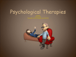 psych therapies
