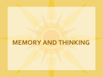 Memory Power Point Notes