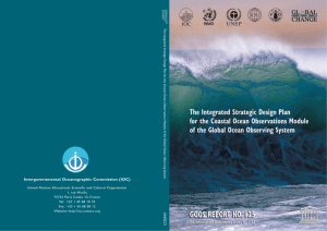 Integrated Strategic Design Plan for the Coastal Ocean