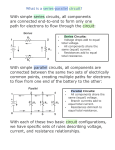 What is a series-parallel circuit