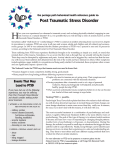 Post Traumatic Stress Disorder - Portage Path Behavioral Health