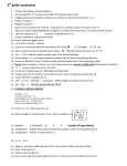 6 grade vocabulary 23. 12 – (½ + ⅓) Do parenthesis first
