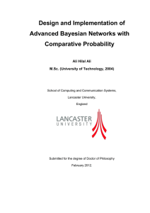 Design and Implementation of Advanced Bayesian Networks with