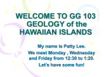 welcome to gg 101 physical geology