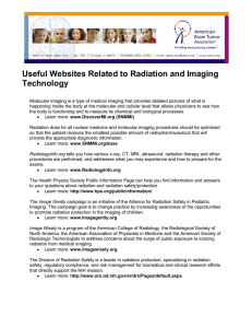 Useful Websites Related to Radiation and Imaging Technology