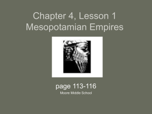 4.1 First Empires