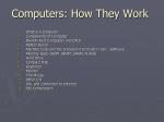 Computers and How They Work