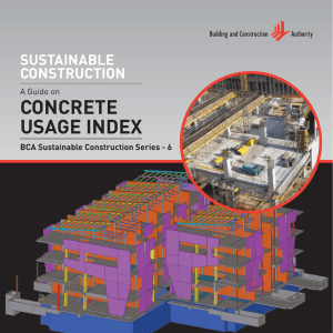 Sustainable Construction - A Guide on Concrete Usage - KIT