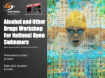 Alcohol and Other Drugs Workshop (PowerPoint) for National Open