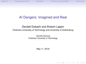 AI Dangers: Imagined and Real