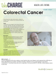 April 2014 VOLUME 1 ISSUE 4 Colorectal Cancer