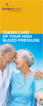 Taking Care of your HigH Blood Pressure