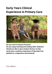 Early Years Experience Information Pack