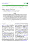 Rotation, activity, and stellar obliquities in a large uniform sample of