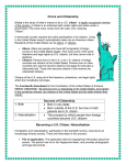 Becoming a US Citizen - Heard County School System