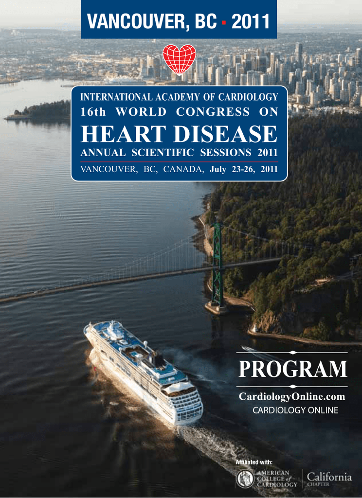 HEART DISEASE - International Academy of Cardiology