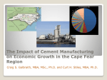Cement Presentation 11-28-12 - Cape Fear Economic Development