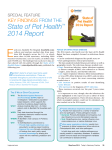State of Pet Health™ 2014 Report
