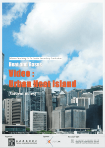 Video : Urban Heat Island