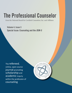 Full Issue - The Professional Counselor