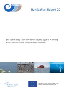 Integrated Pan-Baltic Data Infrastructure for MSP
