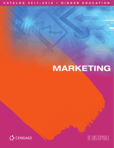 marketing - Cengage Learning Asia