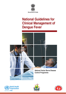 National guidelines for Clinical Management of Dengue Fever