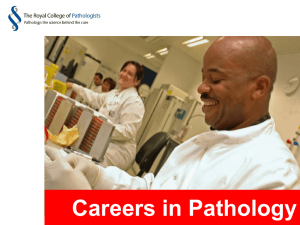 Careers in pathology (MS Powerpoint)