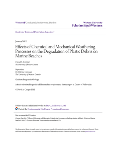 Effects of Chemical and Mechanical Weathering Processes on the