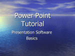 Power Point Tutorial - San Domenico School