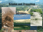Erosion and Deposition - PAMS