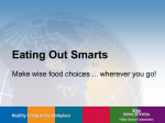 Eating Out Smarts - Government of Nova Scotia