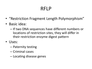 RFLP - Science