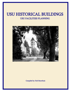 usu historical buildings