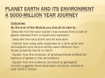 Planet Earth and Its Environment A 5000