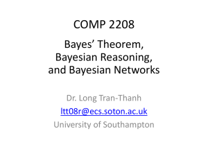 04_Bayes - University of Southampton