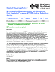 Medical Coverage Policy Non-invasive Measurement of Left