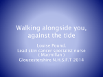Walking alongside you, against the tide - G-Care