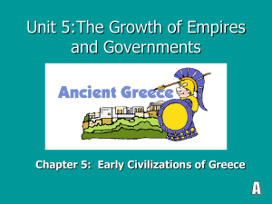 Unit 5:The Growth of Empires and Governments