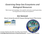 Governing Deep-Sea Ecosystems and Biological Resources
