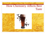 Chemistry of beer