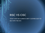 RISC vs CISC - Can You Compute?