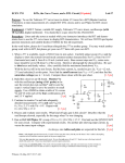 ECEN 3711 -- BJTs, the Curve Tracer, and a DTL Circuit -