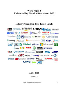 Chapter 4: EOS Root Causes - Industry Council on ESD Target Levels