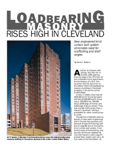 Masonry Construction Magazine: Load Bearing Masonry Rises High