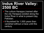 Indus River Valley PPT
