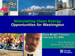Stimulating Clean Energy Opportunities for
