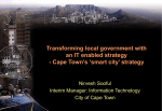 Cape Town`s smart city strategy