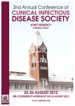 2nd Annual Conference of the Indian Clinical Infectious Disease