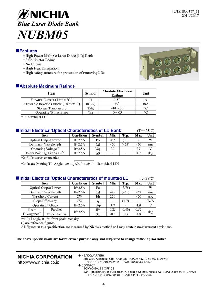 Nubm05 Laser Module Laser Module